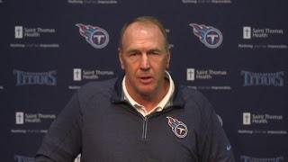 Titans Press Conference: Head Coach Mike Mularkey