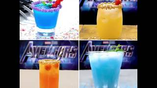 These Drinks are perfect for partying before #AvengersEndgame 🥂