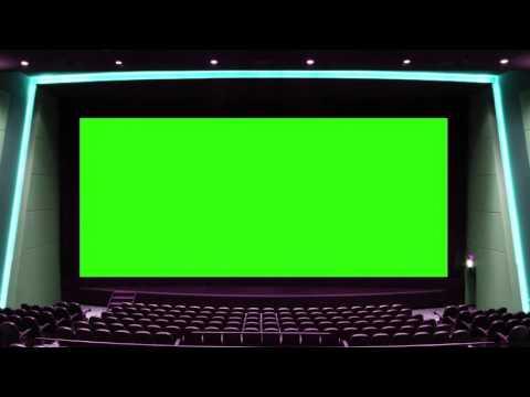 Cinema Hall Green Screen-Wedding Video Moving Background