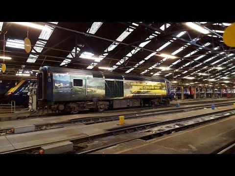 Class 43 High Speed Train MTU engine start