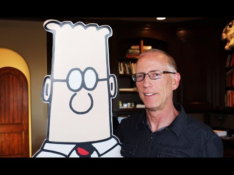 "Dilbert Creator Scott Adams Defends Trump ""Report Card"""