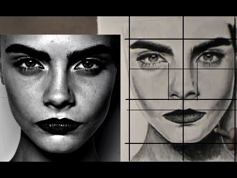 Easy Way To Draw Realistic Face