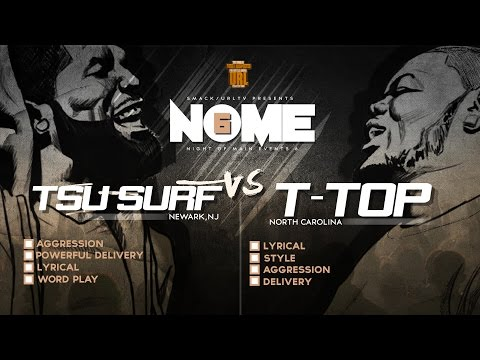 TSU SURF VS T-TOP SMACK/ URL RAP BATTLE