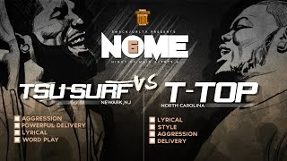 TSU SURF VS T-TOP SMACK/ URL RAP BATTLE