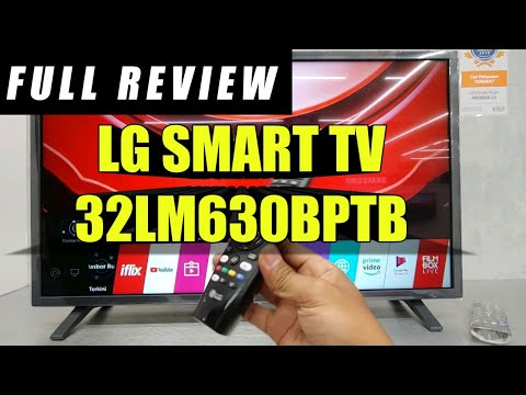 Full Review LG Smart TV 32LM630BPTB - Indonesia