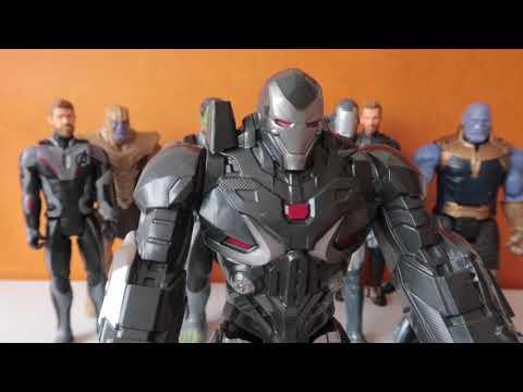Avengers Endgame War Machine 💥 Máquina de Guerra #kidsplavetown