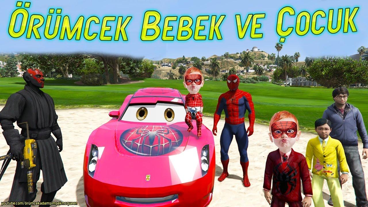Örümcek Çocuk Geldi Örümcek Bebek Gitmedi Komik Çizgi Film İzle