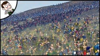 MASSIVE SOUTHERN REALMS v 12,500 UNDEAD SURVIVAL BATTLE - Total War WARHAMMER Mod Gameplay