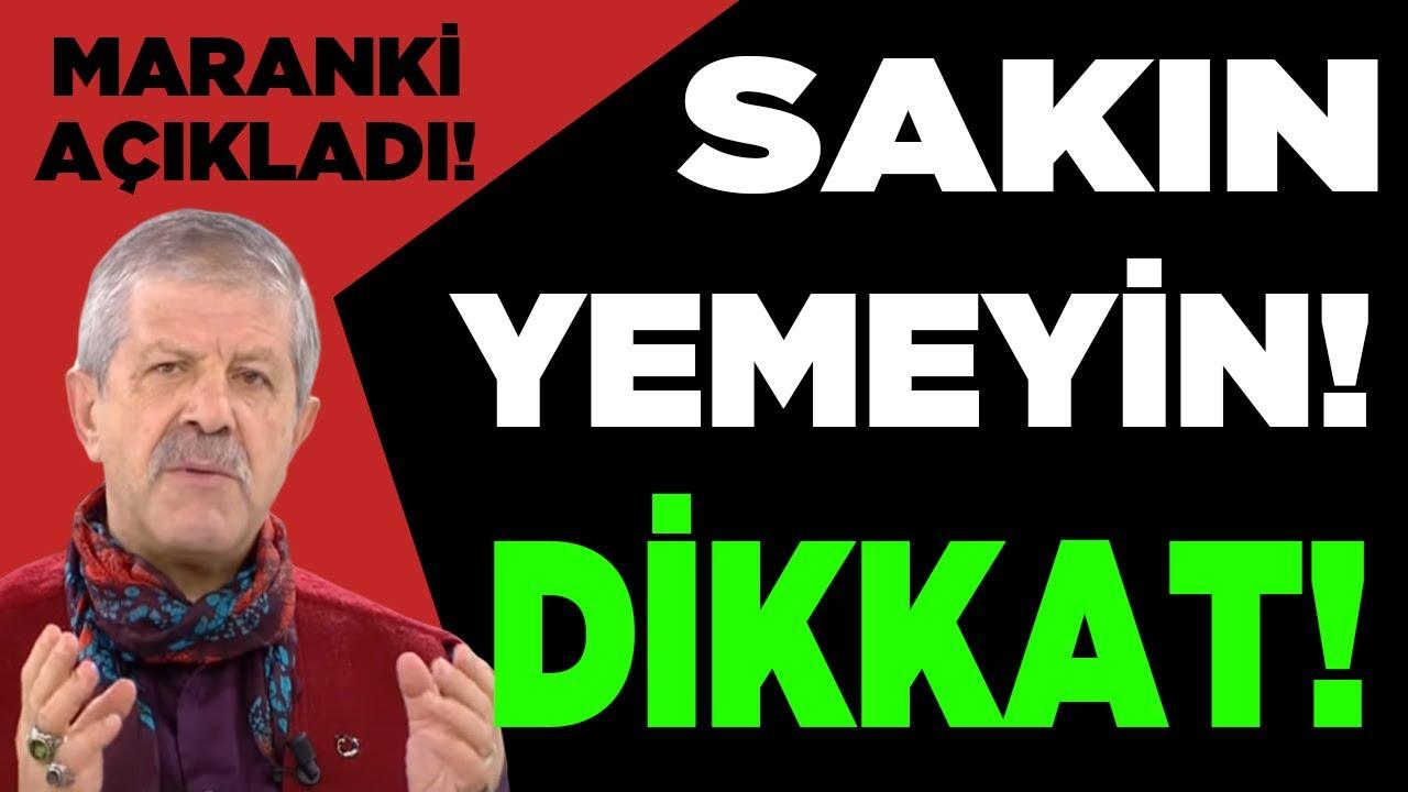 Ahmet Maranki Açıkladı! BUNU KİMLER YEDİYSE GEÇMİŞ OLSUN!