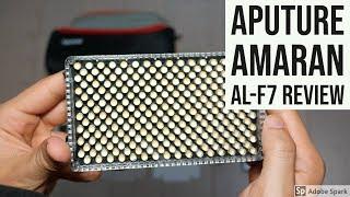 Aputure Amaran AL-F7 Review, Light Tests - User Friendly On-Camera LED Light