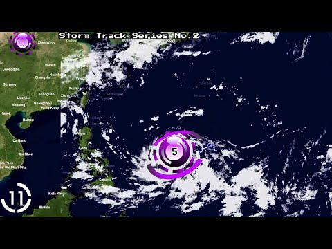 Typhoon Mangkhut (Ompong)   2018   Animation Track