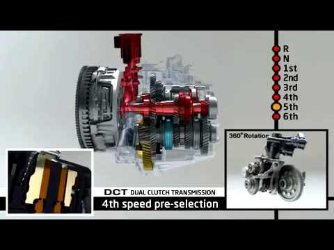 Фото к видео: Kia DCT с двойным сцеплением передачи Kia Ceed 2012