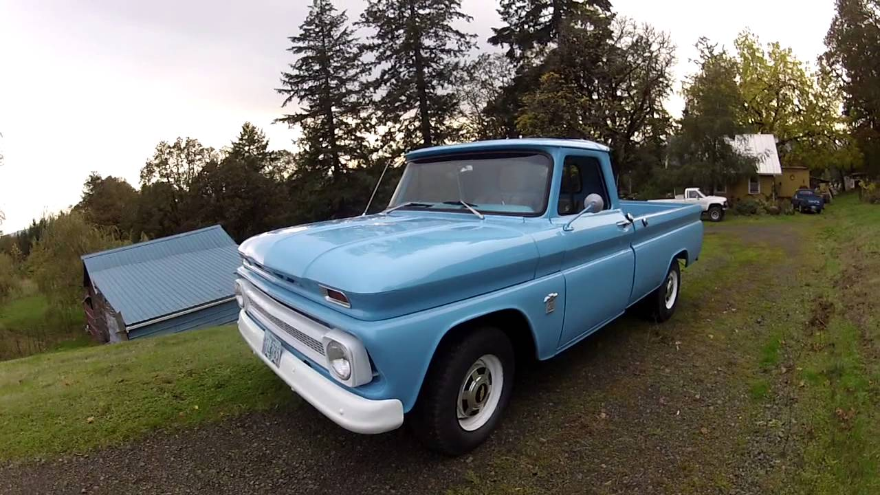 Truck 64 chevy truck for sale : 1964 Chevrolet C20 pickup fully restored - YouTube