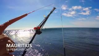 Afternoon kitesurfing in Paradise