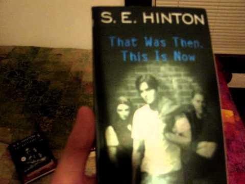 My S. E Hinton Book Collection