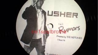 """Usher """"Rumors"""" (Radio Mix) aka """"I Heard A Rumor"""" (Unreleased)"""
