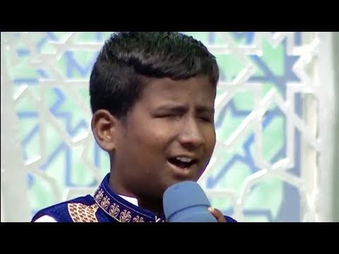 A Blind Kid with a Beautiful Voice | Reciting Naat on Ittehad Ramzan Transmission