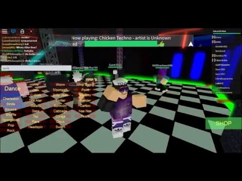 how to dance in roblox pc