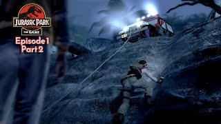 Jurassic Park: The Game - Ep 1: The Intruder (PC) - Part 2: Sneaky Sneaky!