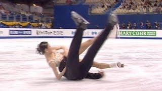 Figure Skating Pairs screw-ups and falls - from Universal Sports