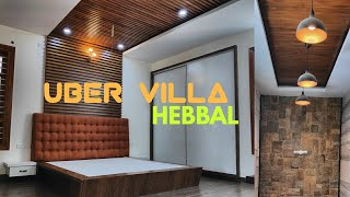 Uber Villa- Architects Luxury Home in Bangalore with Rich Interiors