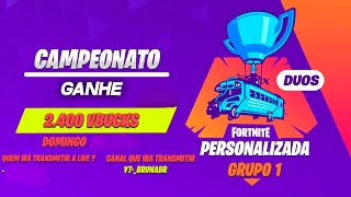 Fortnite - France Championnat Valendo 2 400 Vbucks (fr) Groupe 1
