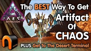 ARK Extinction ARTIFACT OF CHAOS & Desert Titan Terminal