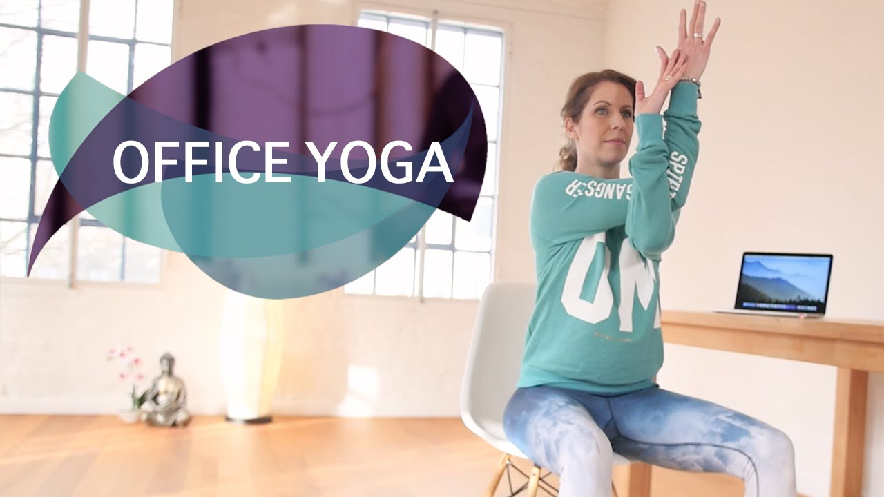 Office Yoga: Schnelles Yoga-Workout für ein Lunch-Break // FlexibleFit Yoga