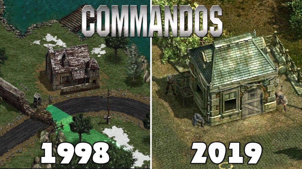 Evolution Of Commandos Games [1998-2019]