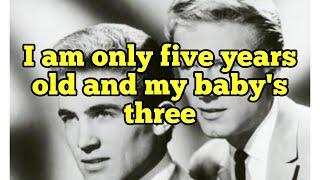 """""""Baby Talk"""" - Jan & Dean - Lyrics"""