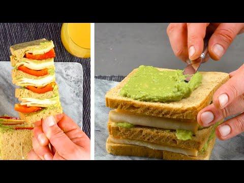 empilez-cinq-toasts-les-uns-sur-les-autres-et-trempez-les-dans-les-corn-flakes.-Ça-croustille-!