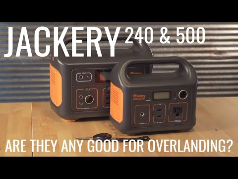 Jackery Battery Pack For Overlanding - What is it Good For?