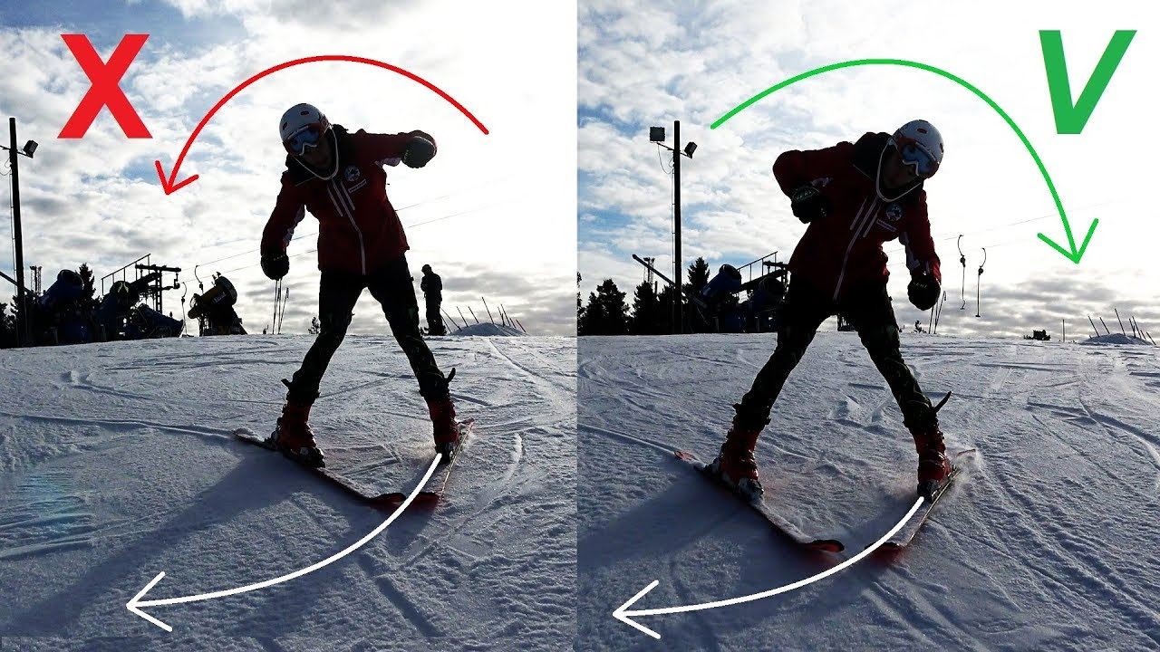 Don't Do This: Beginner Skiing Lesson