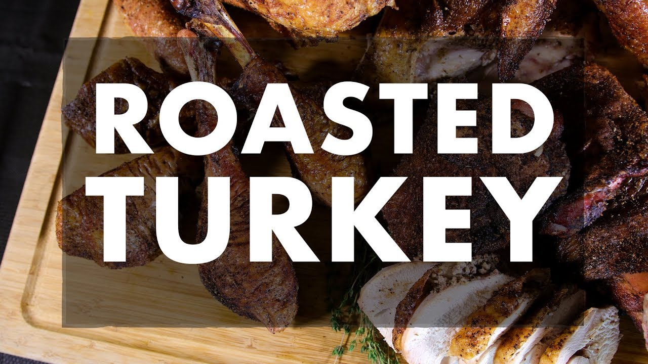 Roasted Turkey With Chef Greg Rec Tec Grills