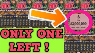50X THE CASH! & MANY WINNERS ON SCRATCH OFF TICKETS!😄