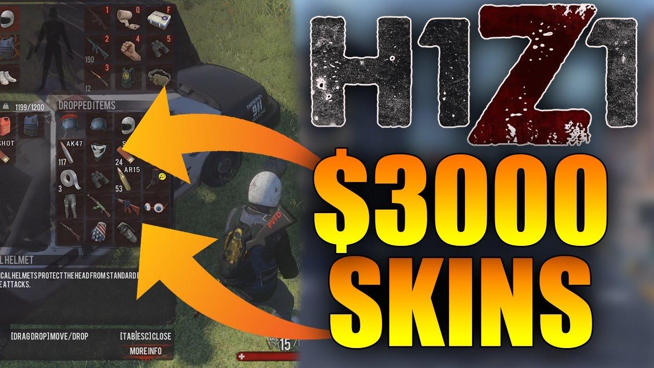 H1z1 Rare Skins