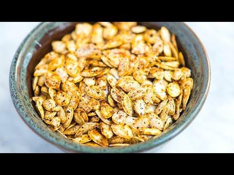 Easy Roasted Pumpkin Seeds Recipe How to Roast Raw Pumpkin Seeds