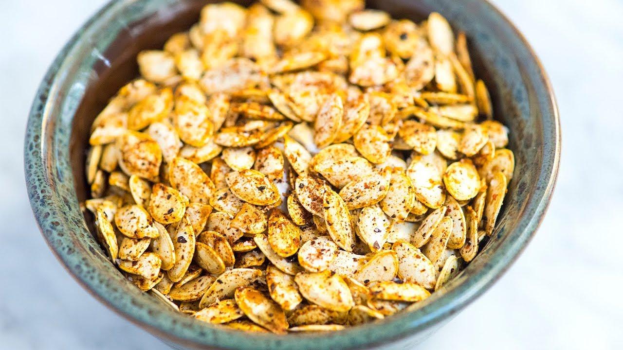 Easy Roasted Pumpkin Seeds Recipe