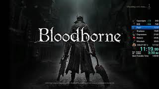 Bloodborne All Bosses Speedrun in 1:05:44 IGT (World Record)
