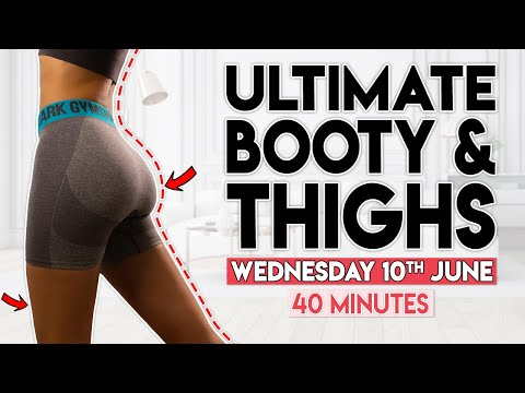 ULTIMATE BOOTY & THIGHS | 7 Day Summer Shred Challenge | Home Workout