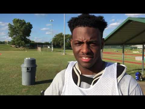 Allen HS (TX) star running back and midfielder Kirby Bennett
