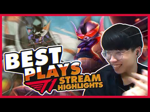Faker Says Gold And Bronze Are The SAME | T1 League Of Legends Best Plays On Stream