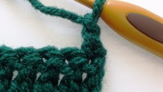 alternative double crochet turning chain double crochet turning chain