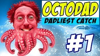 OctoDad: Dadliest Catch Part 1 - Wow this is Fun! (PC Face Cam Commentary)