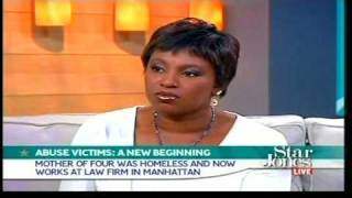 Coalition for the Homeless - First Step Graduates on The Star Jones Show, November 5, 2007