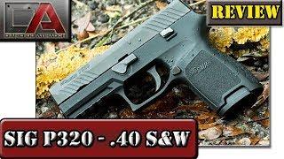Review da Sig Sauer P320 - Calibre .40 S&W
