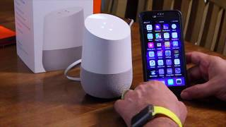 Does Google Home work with iPhone