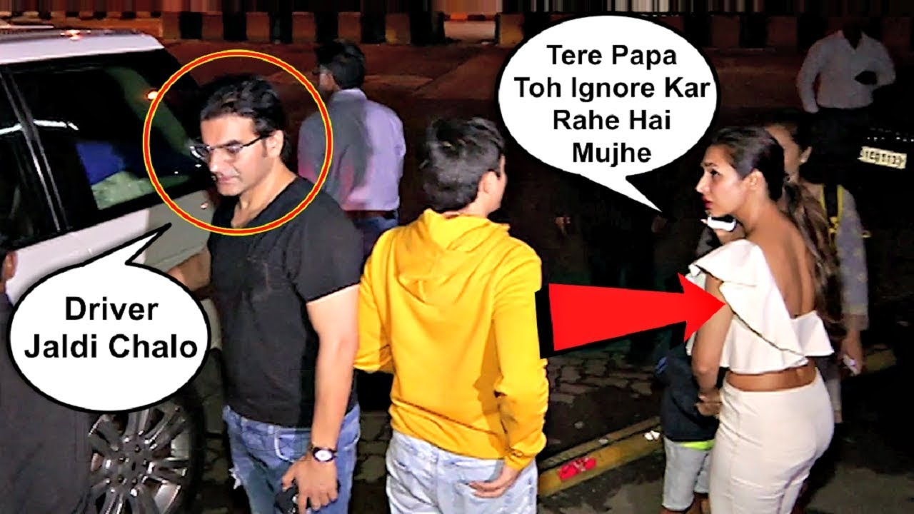 Arbaaz Khan Ignoring Ex Wife Malaika Arora Khan In Front ...