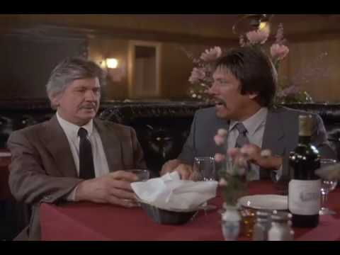 DEATH WISH 4 (1987): Charles Bronson, Wine Salesman