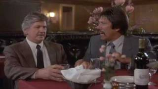 DEATH WISH 4 (1987): Charles Bronson, Wine Salesman